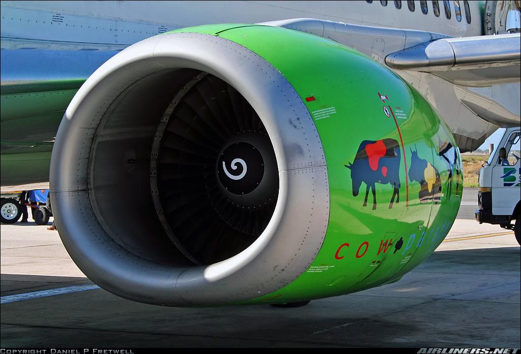 воздухозаборник B 737 Classic